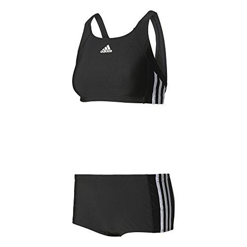 adidas Damen INF EC3S 2PC Swimsuit, Black/White, 40