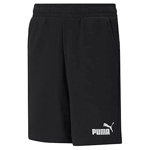 Puma - ESS Sweat Shorts B, Puma Black, 10 Años