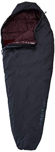 Deuter Unisex-Adult Orbit + 5° - SL Schlafsack, Granite-Aubergine, One Size
