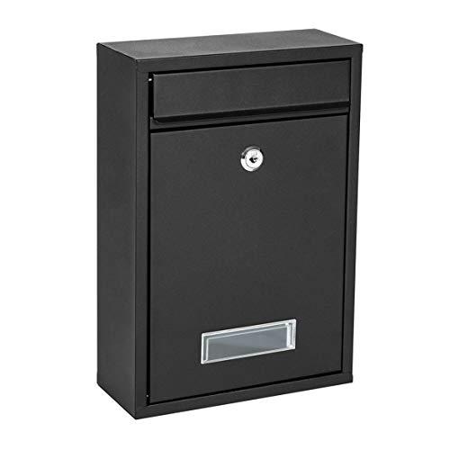 KIPPEN 10004AN Cassetta Postale Modello Mail, Colore Antracite, 320x215x90 mm, 320x90x215 mm