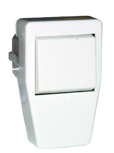 UNITEC 40544L Schuko-Stecker, PVC mit Ausschalter, weiߟ