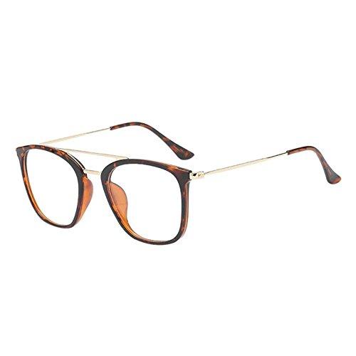 Hzjundasi Unisex Mode Männer Damen Dauerhaft Kurzsichtigkeit Brille Kurz Entfernung Linsen Fahren Kurzsichtig Eyewear (Stärke -0.5, Tortie) (Diese sind nicht Lesen Brille)
