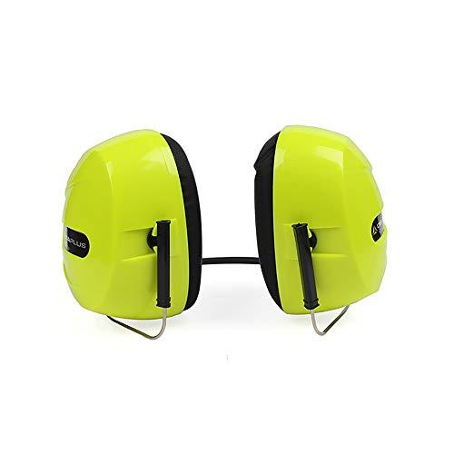 Yuqianqian Protector para Oídos Defensores Auditivos Orejeras insonorizadas Desgaste del Cuello Orejeras de reducción Protección del Trabajo Audífonos Orejeras Protección contra el Ruido