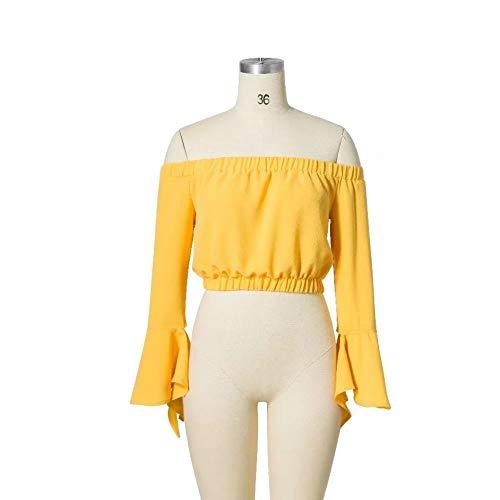 Cnsdy Vrouwen Shirts Nieuwe One-Shoulder Schouder T-Shirt Tops