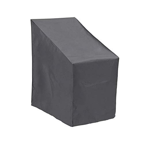 Funda Muebles Jardin Funda Para Muebles De JardíN Cubierta de muebles de jardín Cubierta de sillón de jardín Cubierta de protección abierta impermeable Cubierta negra Funda Protectoras Muebles Jardin