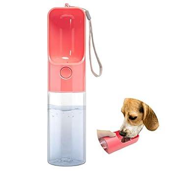 Esing Dog Water Bottles for Walking Pet Portable Drinking Bottle Puppy Travel Doggie Kettle Kittens Cup