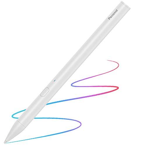 """Penoval Stylus Pen Stift mit Palm Rejection für Apple iPad Mini 5/ iPad Air 3/ iPad Pro 12.9""""/ Pro 11"""" /iPad 6 /iPad 7, Ideal für zeichnen, skizzieren, etwas auszumalen"""