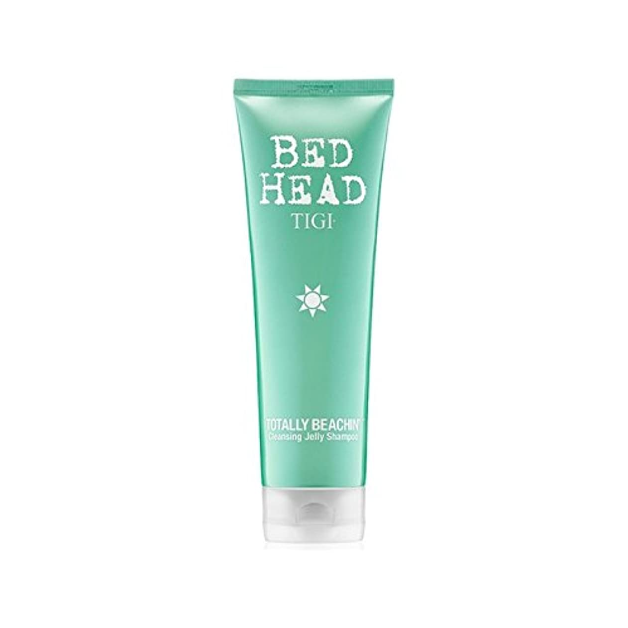 悪夢スタンド泣く完全にクレンジングゼリーシャンプー(250ミリリットル)ティジーベッドヘッド x4 - Tigi Bed Head Totally Beachin Cleansing Jelly Shampoo (250ml) (Pack of 4) [並行輸入品]