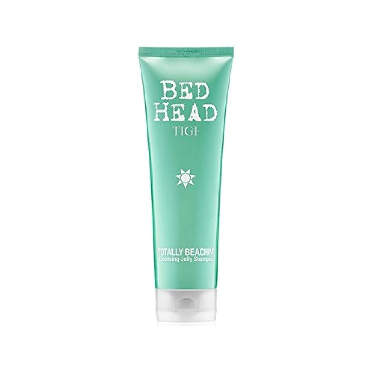 エイズサージバタフライTigi Bed Head Totally Beachin Cleansing Jelly Shampoo (250ml) (Pack of 6) - 完全にクレンジングゼリーシャンプー(250ミリリットル)ティジーベッドヘッド x6 [並行輸入品]