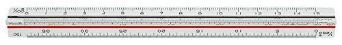シンワ測定 三角スケール 土地家屋調査士用 A-15 JIS 15cm 74969