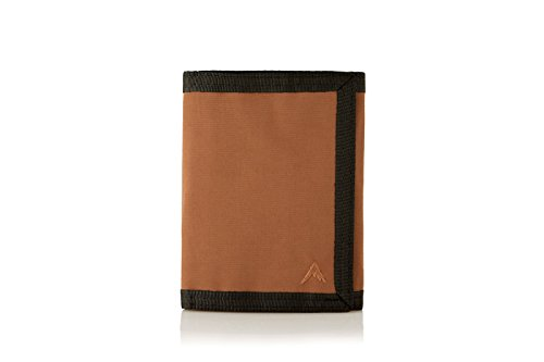 Mule RFID Blocking Nylon Trifold Wallet (Brown)