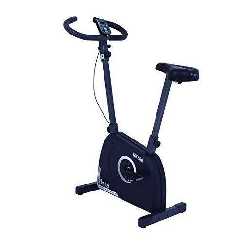 Bicicleta Ergométrica Vertical Dream Fitness EX 500, Preto/Prata, Único