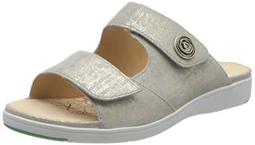 Ganter Damen GINA-G Pantoletten, Grau (Grey 6000), 42 EU
