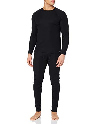 CMP Funktionswäsche - Conjunto térmico de ropa interior para hombre, color negro, talla XL