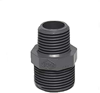 Dura PVC Reducing Nipple - Size : 1 1/2