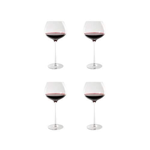 SFF Copas de vino de cristal de alta calidad Copa de vino transparente caja de regalo para cualquier ocasión 780 ml/26 onzas (cantidad: 4)