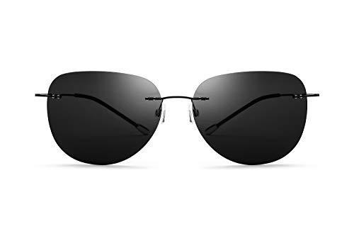 Gafas de Sol polarizadas sin Tornillos Ultra Ligeras sin Mar