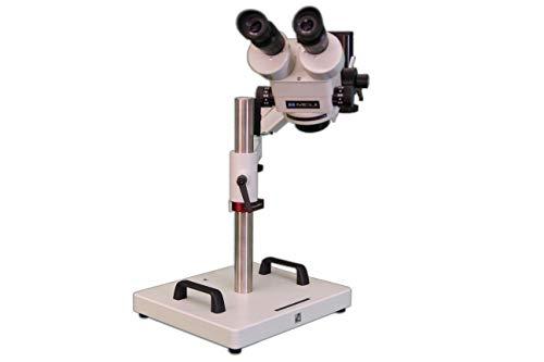 MEIJI TECHNO AMERICA Meiji EMZ-5+MA502+FSC+SAS-4 Binocular Zoom Stereo Body, 0.7X - 4.5X Zoom Range, Eyepiece, Focus Block, Articulating Heavy Duty Stand
