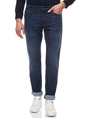 BOSS Herren Maine BC-P Regular-Fit Jeans aus Denim
