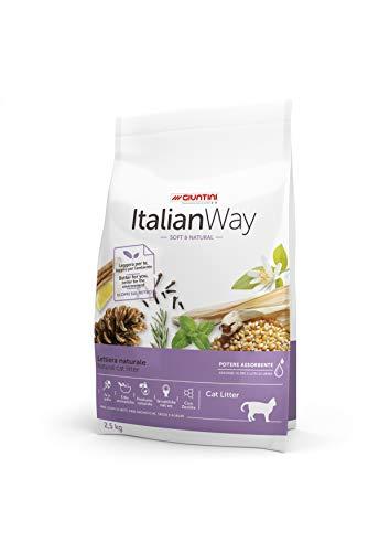 Italian Way Lettiera Naturale per Gatti Soft&Natural - 2.5 kg