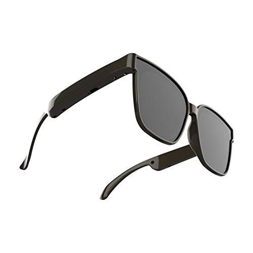 brightsen Smart Audio Gafas De Sol Bluetooth Auriculares Inalámbricos con Música para Exteriores Gafas De Sol con Altavoz Deportivo para Hombres Y Mujeres Conecte Teléfonos Móviles Y Tabletas