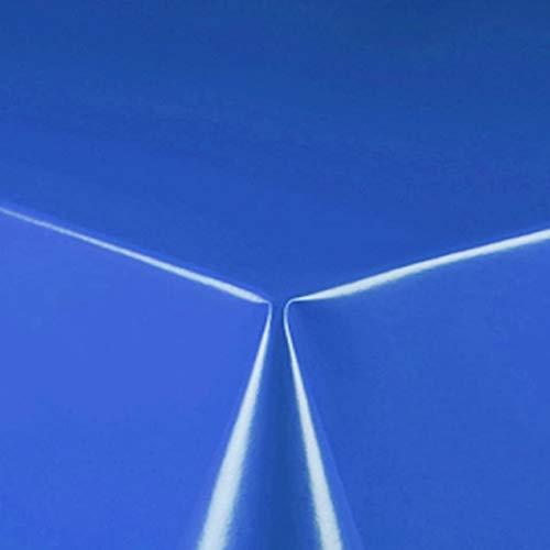 d-c-fix Partytischdecke Lackfolie 100 x 250 cm Farbe wählbar Blau abwaschbare Tischdecke