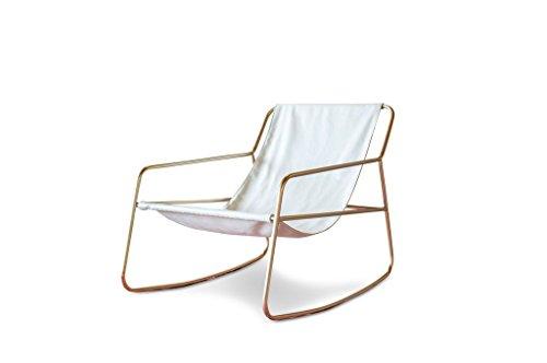 pib Mecedora escandinava Lund - Confort de Asiento, Producto atípico, Acabado Dorado | La Elegancia...