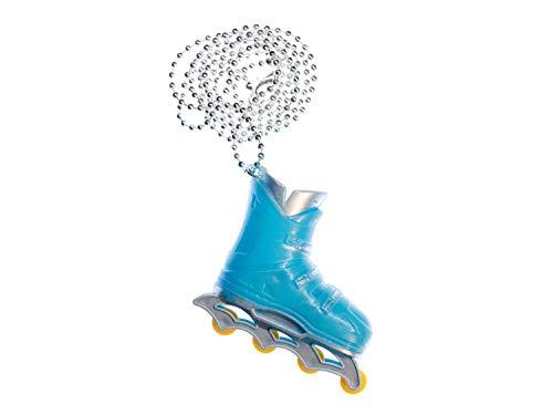 Miniblings Roller Skates Rollschuhe Inlineskates Kette Halskette Skates 80cm blau