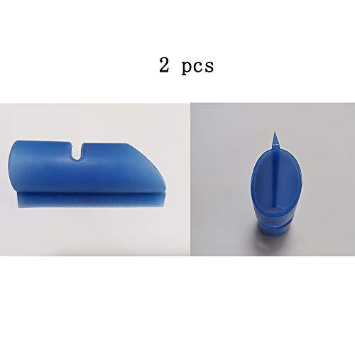 A-TSWB Helmvisierwischer Goggle Tool Finger Visierwischer Für Ihre Sicherheit,Blueb