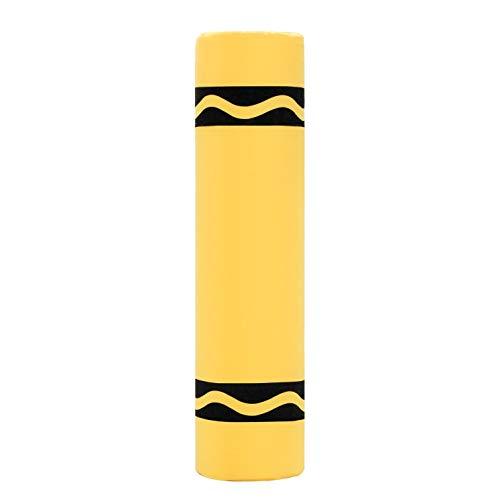 Crayola Crayon Bolster Pillow Lemon