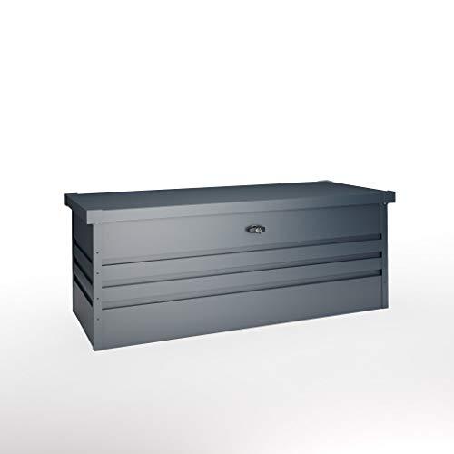 Hoggar OKOLNIR II 600L Metall Aufbewarungsbox - Aufbewahrungstruhe - Gartentruhe - Gartenbox