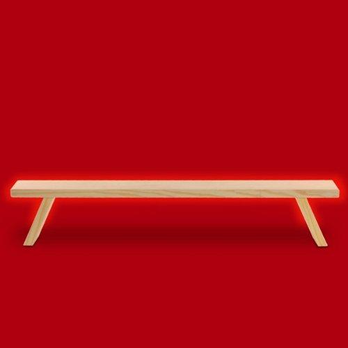 SIKORA B1 einfache Holz Schwibbogenbank L: 60 cm