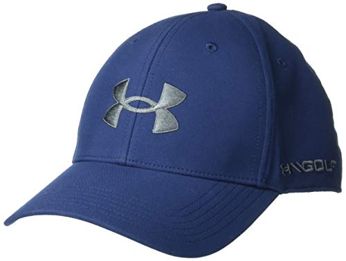 Under Armour Men's Golf96 Hat , Academy Blue (408)/Pitch Gray , One Size Fits Most