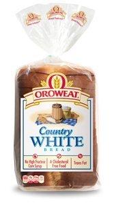 Oroweat Sliced Bread 24oz Loaf (Pack of 2) Choose Flavor Below (Country - White)