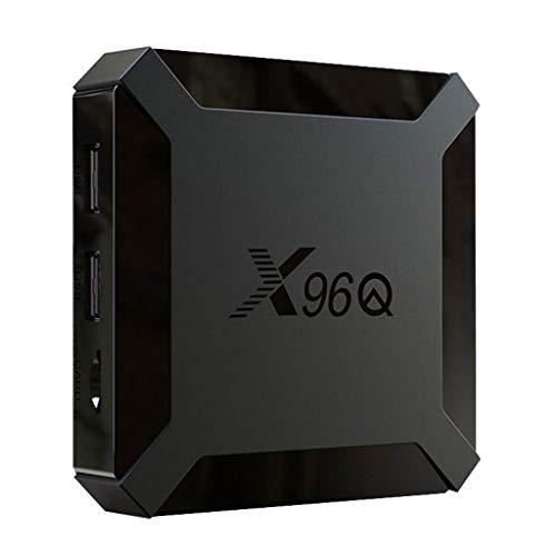 х96Q TV βox, 2G + 16, Gset-Tóp Βox, Andróid 10 H313, нd Smart TV Βóx, Compatible con Mouse / Teclado Inalámbrico 2.4G-EU Plug