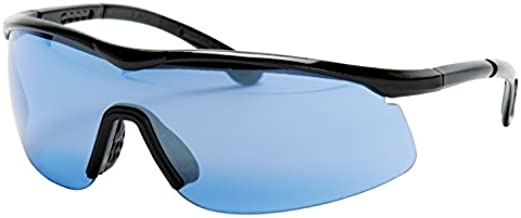 Unique Tourna Specs Blue Tint Sports Glasses for Tennis, Pickleball, and Golf (TS-B)