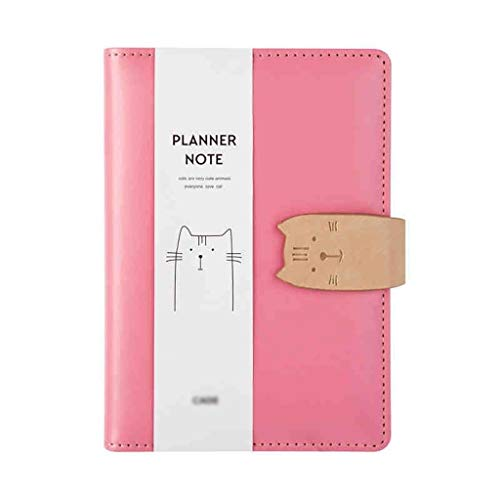SKK Exquisite A6 Leather Notebook Journal Travel Personal Diary Journals Ruled Notepad Book Sketching Writing (Quantity : 1)