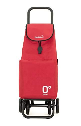 Garmol Carro Compra, Rojo, 66L