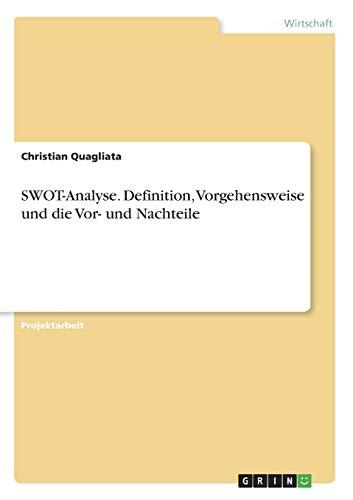 SWOT-Analyse. Definition, Vorgehensweise und die Vor- und Nachteile