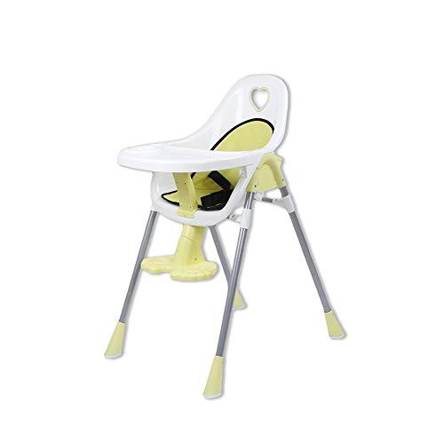 ZXQZ ベビーハイチェア、子供用ダイニングチェアベビーダイニングテーブルと椅子多機能シートポータブルとシートクッションとトレイ