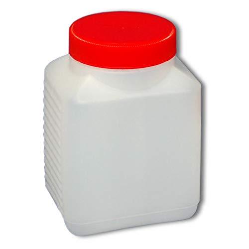 500 ml Plastikflasche Weithalsflasche mit Verschluss Behälter PE-Flasche lebensmittelecht ***Ideal zum Abfüllen von Kosmetikprodukten***