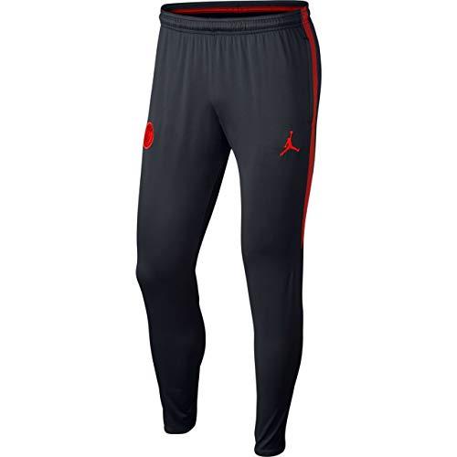Nike Herren Paris Saint-Germain Dry Squad Hose, Black/University Red, L