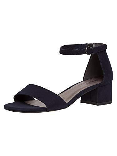 Tamaris Damen 1-1-28201-26 Sandale, Flip-Flop, blau, 39 EU