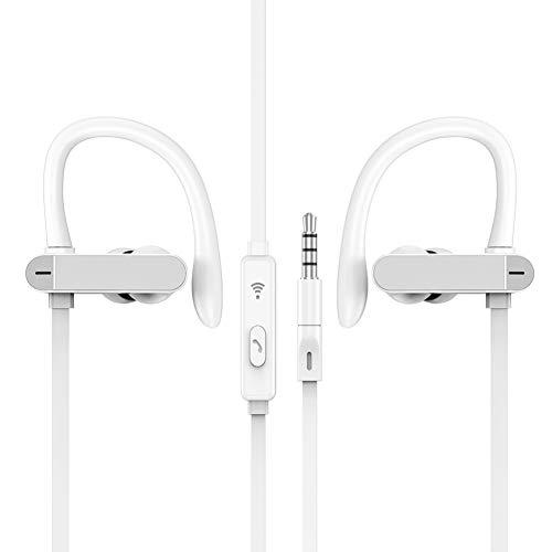 HShyxlkj T50 Stylish Sport 3,5 mm Ear Hook Stereo Super Bass Koptelefoon voor telefoon