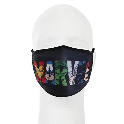 Marvel Avengers Group Face Cover - Kids