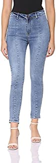 Andiamo Fashion High-Rise Faded Skinny Jeans for Women 32