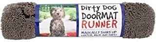 Best The Original Dirty Dog Doormat, Ultra Absorbent Advanced Microfiber Soaks Up Water and Mud, Super Gripper Backing Prevents Slipping Review