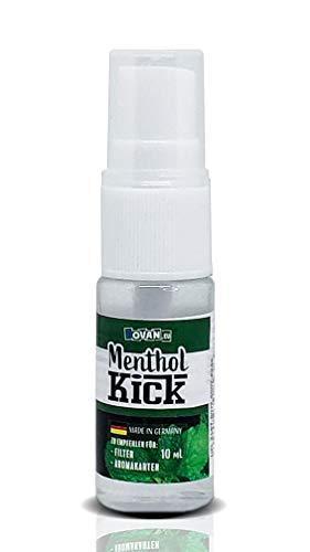 Menthol Kick by Vovan 10ml Spray | Zigarettenaroma zum besprühen von Zigaretten Filter | Aroma Spray | Einfache Anwendung