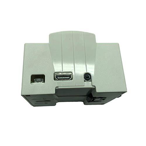 Alician Raspberry Pi 4 Model B - Carcasa protectora para Rpi 3 modelo B+ 4ª generación, color blanco