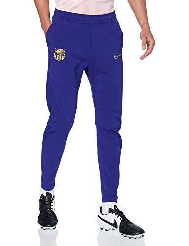 Nike FCB M NSW TCH PCK PANT, Pantaloni Sportivi Uomo, deep royal blue/deep royal blue/(amarillo) (no sponsor), XL